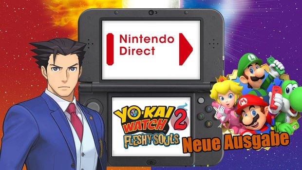 Nintendo Direct: Neue Ausstrahlung am Donnerstag – ohne Nintendo NX