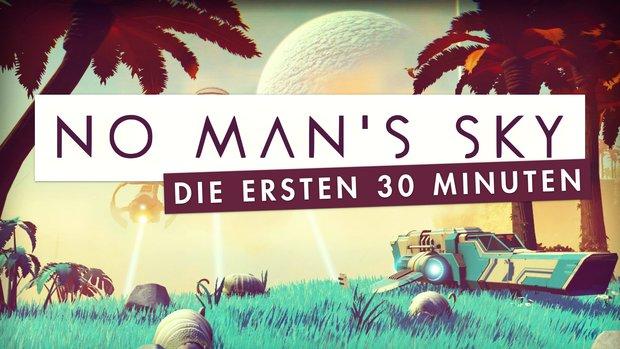 No Man's Sky: Die ersten 30 Minuten im Gameplay-Video