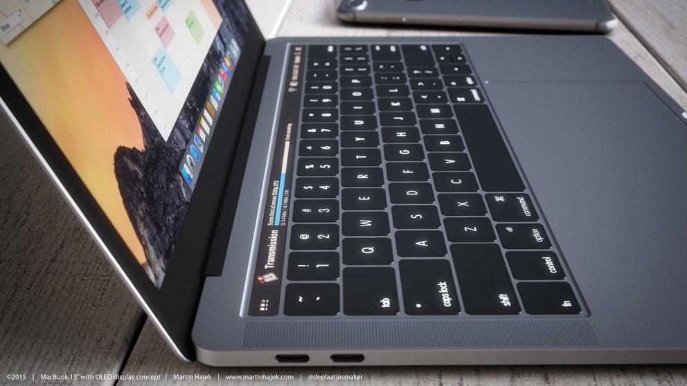 WSJ: E-Ink-Tastaturen bereits ab 2018 in neuen MacBooks
