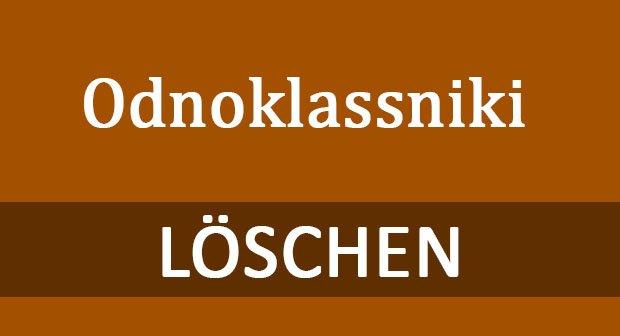 Odnoklassniki Löschen