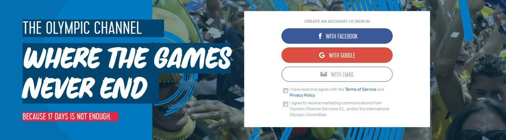 Olympic Channel Banner