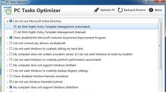 PC Tasks Optimizer