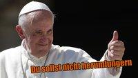 Papst Franziskus: Du sollst weniger Videospiele spielen!