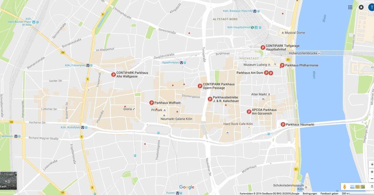 google maps entfernung messen so geht s per app und. Black Bedroom Furniture Sets. Home Design Ideas