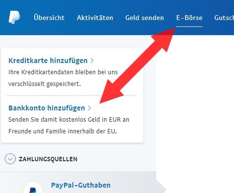 Paypal Sendelimit