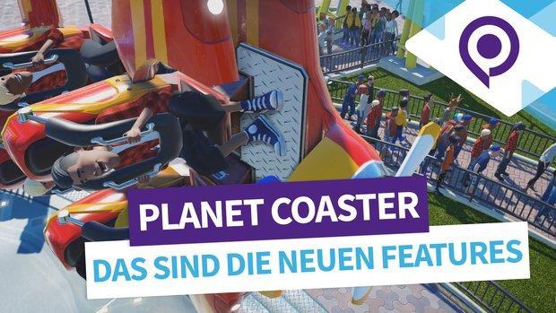Planet Coaster Mini-Vorschau: Diese Features sind ab heute im Spiel