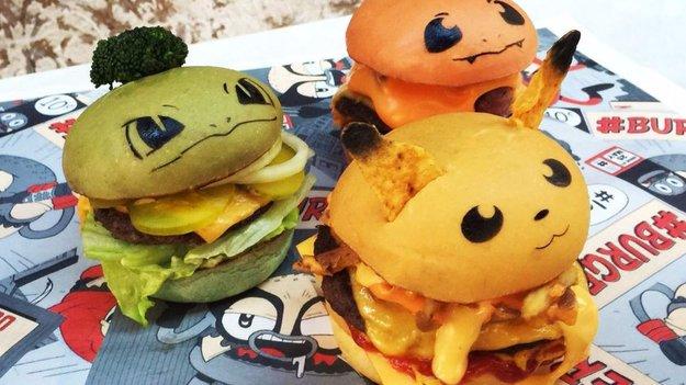 Gotta eat 'em all: Diese Pokémon-Burger sind zu niedlich, um gegessen zu werden