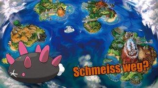 Pokémon Sonne & Mond: Geld für das Wegwerfen von Pokémon mit neuem Minigame