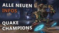 Quake Champions in der Vorschau: Champions, Waffen und Modi im Detail vorgestellt