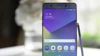 Samsung: Iris-Scanner des Galaxy Note 7 soll auch in Mittelklasse-Smartphones Einzug halten