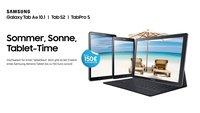 Samsung-Sommerprämie: Galaxy-Tablets mit bis zu 150 Euro Sofortabzug [Update: Aktion verlängert]
