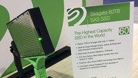 Seagate: Monster-SSD mit 60 Terabyte Speicherkapazität vorgestellt