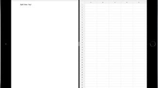 Google Docs, Tabellen und Präsentationen für iOS lernen Split-View-Multitasking