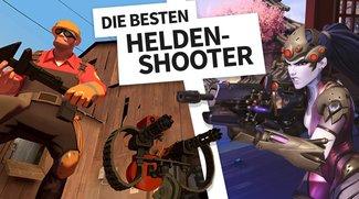Die besten Helden-Shooter, die ihr unbedingt spielen müsst