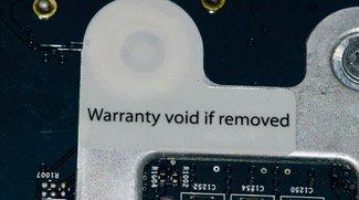 """""""Warranty Void"""": Wie Microsoft und Co. Kunden mit illegalen Aufklebern austricksen"""