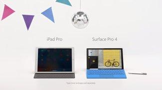 iPad Pro im Visier: Microsoft stichelt gegen Apple