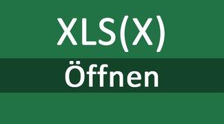 XLSX- und XLS-Datei öffnen – so geht's