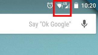 Android: WLAN mit Ausrufezeichen – Was ist das?