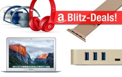 Sonntagsangebote:<b> MacBook Air, Beats Solo2, USB-C-Dock u.v.m. heute günstiger</b></b>