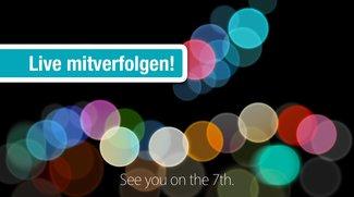 Apple Event (7. Sept. 2016): Liveticker und Livesendung zum iPhone 7