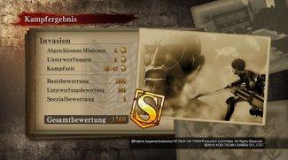 Attack on Titan - Wings of Freedom: S-Rang und fatale Unterwerfung erreichen