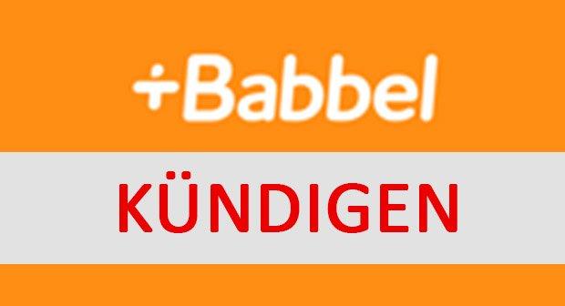 Babbel Kundigen So Geht S