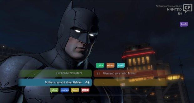 Batman - The Telltale Series: Crowd Play im Detail