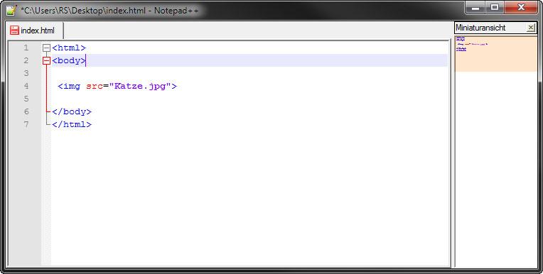 Bild einfügen mit HTML: so geht's