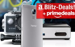Blitzangebote:<b> Honor 7 Smartphone, GoPro-Alternative, Intel NUC Mini-PC u.v.m. günstiger + Prime Deals für Kinder</b></b>