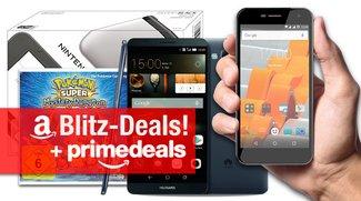 Prime Deals (Tagesangebote): Nintendo 3DS XL, Huawei Ascend Mate 7, Wileyfox Spark u.vm. günstiger + Blitzdeals