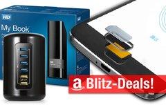 Blitzangebote:<b> Fingerprint-Smartphone, 8 TB Festplatte, BT-Lautsprecher, USB-Hub im Mac-Pro-Design u.v.m. günstiger</b></b>