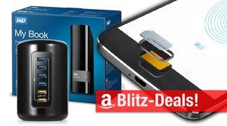 Blitzangebote: Fingerprint-Smartphone, 8 TB Festplatte, BT-Lautsprecher, USB-Hub im Mac-Pro-Design u.v.m. günstiger