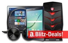 Blitzangebote:<b> BT-Kopfhörer, Galaxy Tab S2, Festplatte, Curved-Display, -33% auf Gaming-Notebooks und -Desktops u.v.m.</b></b>