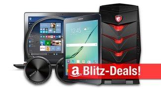 Blitzangebote: BT-Kopfhörer, Galaxy Tab S2, Festplatte, Curved-Display, -33% auf Gaming-Notebooks und -Desktops u.v.m.