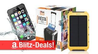 Blitzangebote: Party-BT-Soundanlage, Solarladegerät, wasserdichte iPhone-Hülle, mobile Festplatte u.v.m. zum Bestpreis