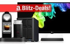 Blitzangebote:<b> 34-Zoll-Display, Chromebox, 12 TB NAS, 4 TB Festplatte, 1 TB SSD, Nespresso-Maschine u.v.m. günstiger</b></b>