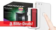 Blitzangebote: Powerbank, 5,5-Zoll-Smartphone mit Fingerabdrucksensor, Netgear NAS, UE Boom 2 Lautsprecher u.v.m.