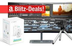 Blitzangebote:<b> 34-Zoll-Curved-Display, WLAN-Steckdose, HD-Webcam für Mac & PC, Smartphone-Rig u.v.m. billiger</b></b>