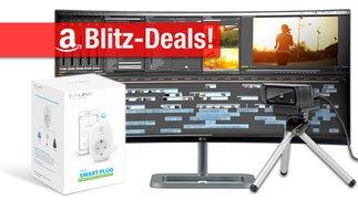 Blitzangebote: 34-Zoll-Curved-Display, WLAN-Steckdose, HD-Webcam für Mac & PC, Smartphone-Rig u.v.m. billiger