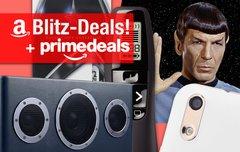 Blitzangebote und Prime Deals:<b> 50 Jahre Star Trek + Logitech Presenter, Ulefone Paris, AiPlay-Lautsprecher u.v.m.</b></b>
