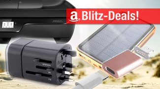 Blitzangebote: Lightning-MagSafe-Adaper, Reise-Adapter, Solar-Akku-Pack und AirPrint-Drucker heute zum Bestpreis