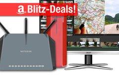 Blitzangebote:<b> WQHD-Monitor, AirPort-Alternative, UE Boom Lautsprecher, SSD u.v.m. heute günstiger</b></b>
