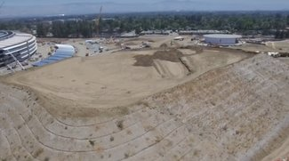 Apple Campus 2: Landschaftsbau rückt in den Fokus [Video]