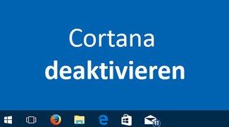 Windows 10: Cortana deaktivieren & ausblenden