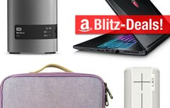 Blitzangebote:<b> 8-Terabyte-RAID, UE Boom 2, Gaming-Notebook u.v.m. heute günstiger</b></b>