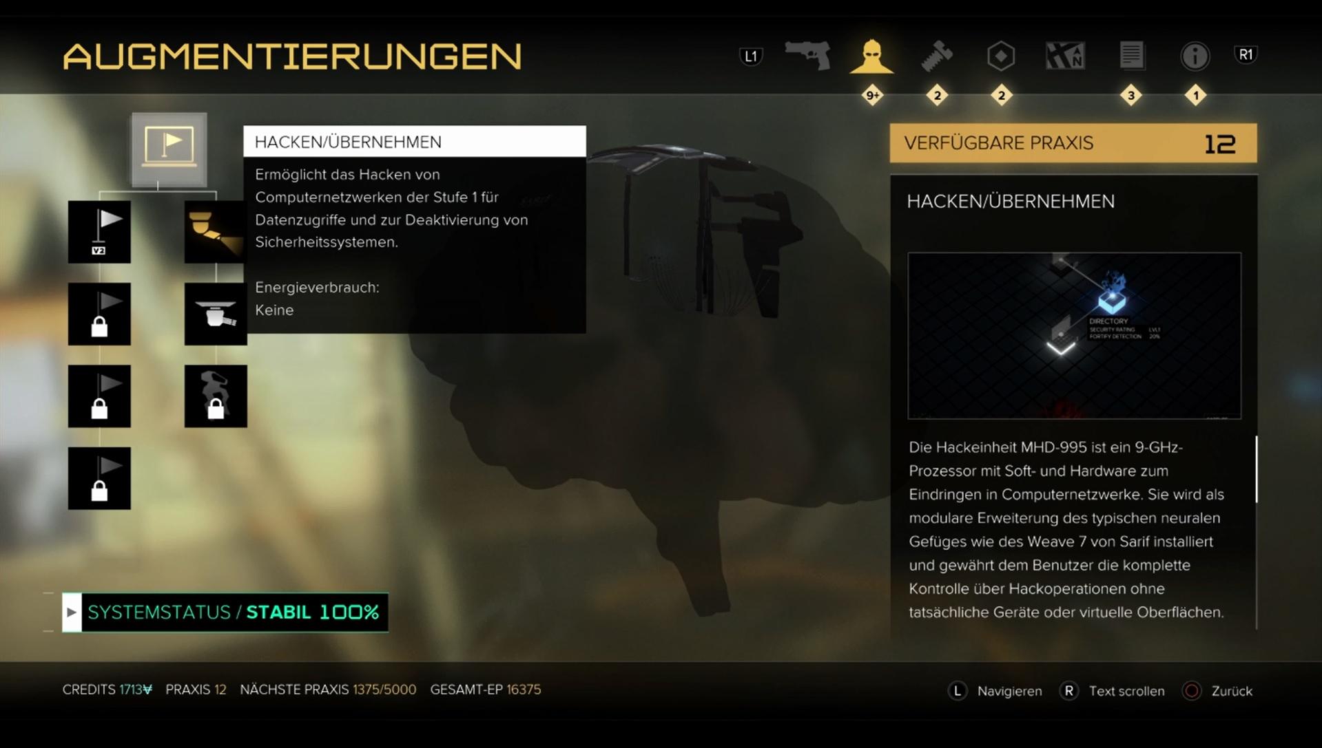 Deus Ex - Mankind Divided: Passwörter und Codes für alle Terminals