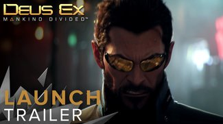 Deus Ex - Mankind Divided: Launch-Trailer zeigt spektakuläre Action-Szenen