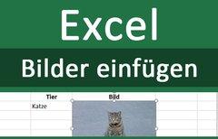 Bilder in Excel einfügen –...