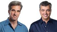 Cue und Federighi sprechen über Apples Fehler, Medien-Wahrnehmung und schreienden Steve Jobs