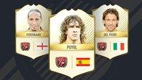 FIFA 17 Legenden: Alle neuen FUT-Stars im Überblick (Update: Legenden-Ratings)
